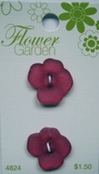 Flower - Button  19 mm