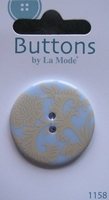 Button - By La Mode  34 mm
