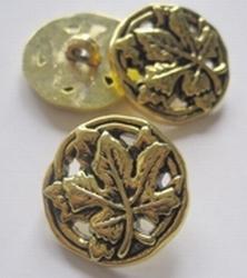 Gold - Knoop  25 mm