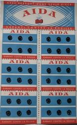 36 Druckknöpfe Schwarz  6 mm