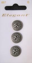 3 Knopen - Elegant  19 mm