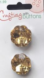 2 Strassknopen  21 mm