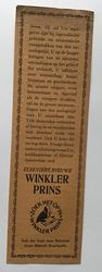 Boekenlegger  18,5 x 5,5 cm