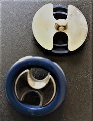 BL- Knopf  27 mm