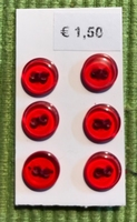 R - 6 knöpfe  8 mm