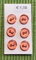 6 knöpfe  8 mm