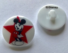 Walt Disney - Knopf  22 mm