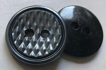 Grijs-knoop  25 mm