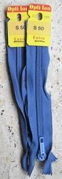 1 Rits - blauw  12 cm