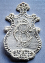 Monogram - Little B.C. - C.B.  4,5 x 2,5 cm