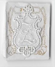 6 Monogrammen - S.Z.  4,5 x 2,5 cm