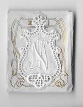6 Monogrammen -  J.N.  4,5 x 2,5 cm