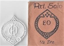 6 Monogrammen - E.O. - O.E  37 x 29 cm