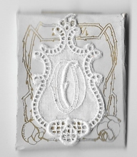 6 Monogrammen O.O.  4,5 x 2,5 cm