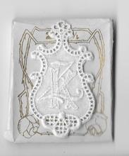 6 Monogrammen K.Z.  4,5 x 2,5 cm