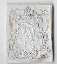 6 Monogrammen W.Z.  4,5 x 2,5 cm