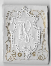 6 Monogrammen - L.Z.  4,5 x 2,5 cm