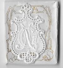 6 Monogrammen - G.N.  4,5 x 2,5 cm