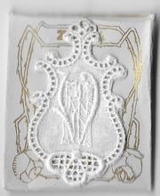 6 Monogrammen N.W.  4,5 x 2,5 cm