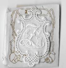 6 Monogrammen - G.Z.  4,5 x 2,5 cm
