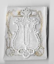 6 Monogrammen - T.U.  4,5 x 2,5 cm