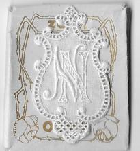 6 Monogrammen - N.N.  4,5 x 2,5 cm