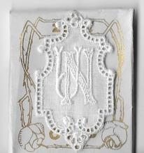 6 Monogrammen - N.U.  4,5 x 2,5 cm