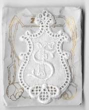 6 Monogrammen F.S.  4,5 x 2,5 cm