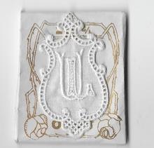 6 Monogrammen - L.UZ.  4,5 x 2,5 cm