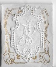 6 Monogrammen -  J.V.  4,5 x 2,5 cm