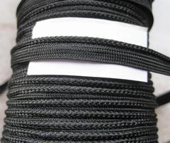 Band - zwart (2,5 mtr)  8 mm