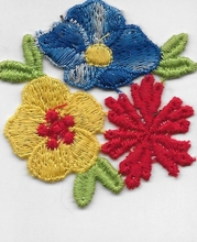 Application - Blumen  55 mm