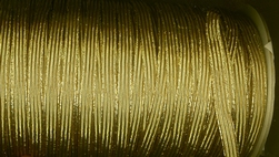 Elastiek-Goud  (3 mtr)  3 mm