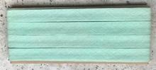 Biasband - licht groen  12 mm