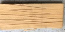 Biasband - okergeel  12 mm