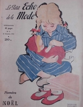 Le Petit Echo de la Mode 1952  29 x 22 cm