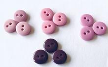 Poppenknoopje -  lila  7,5 mm