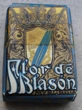 Flor de Blason  5,3 x 3,7 cm