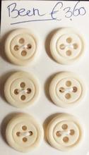 6 Knöpfe  16 - 17 mm