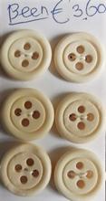 6 Knöpfe  16,6 - 17 mm