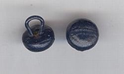 Schoenknoopje - donkerblauw  9 mm