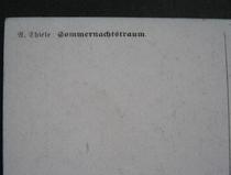 Sommernachtstraum  14 x 9 cm