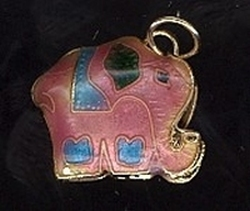1 Elefant - hanger  17 x 18 mm