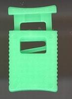 Koordsluiting - groen  32 x 18 mm