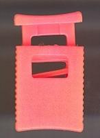 Koordsluiting - rose  32 x 18 mm