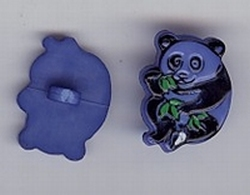Panda - blauw  17mm hoog