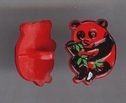 Panda - rood  17mm hoog
