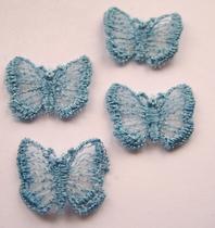 5 Schmetterlingen  20 x 15 mm