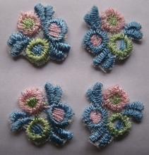 4 Blumen  16 mm