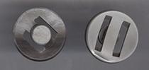 Grau-Knopf  20 mm